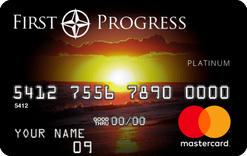 Image for First-Progress-Platinum-Select-MasterCard®-Secured-Credit-Card