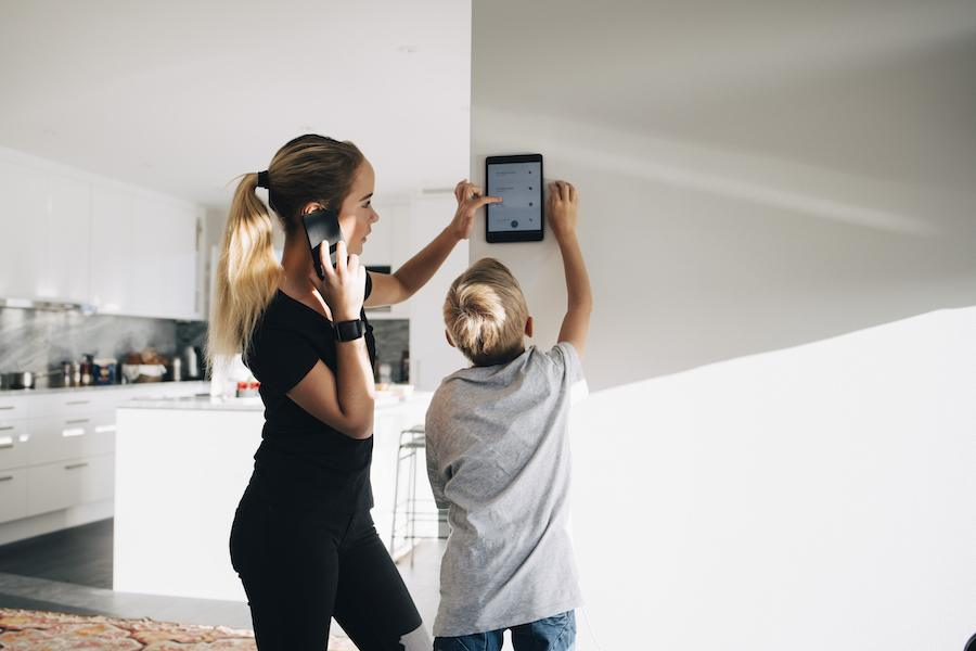 Mom for Keep Your Smart Home Secure